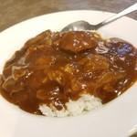 81935593 - 牛バラ肉カレーご飯