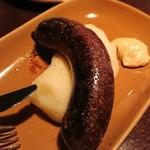 ゴーシェ - 料理写真:ブーダンノワール