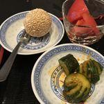 中国酒家 獅子房 - 前菜とデザート
