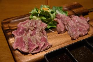 熟成肉&チーズの店 iQue' rico! ~ケリコ~  - 熟成肉ミスジのタリアータ(2種)