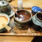 とんかつ 仙川 - 卓上調味料