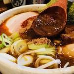 麺処 井の庄 - ドロッと濃厚魚介スープ!
