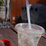 サンドビレッジ - キウイビネガージュース、酸味が強いです!