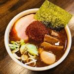 麺処 井の庄 - 辛辛魚味玉らーめん(980円)