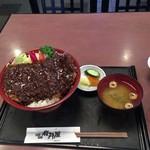 岩井屋 - 料理写真:梅みそかつ丼