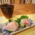 和食屋澄江庵 - 料理写真:寒鯛(コブダイ)、真鯛