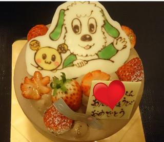 キャラクター ケーキ 大阪