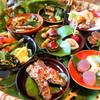ヤマゴボウ - 料理写真:籠盛りの前菜