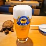 都寿司 - 生ビール