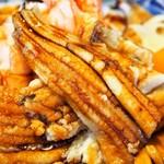都寿司 - にもの丼(穴子)