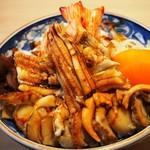 都寿司 - にもの丼 具大盛り