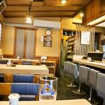 都寿司 - 店内