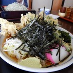 中野屋 - 舞茸天ぷらそば 880円