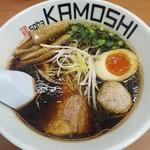鶏 ソバ カモシ - 鶏soba醤油 810円