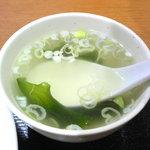 俵屋 - スープ