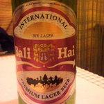 cafeロジウラのマタハリ春光乍洩 - バリハイ・インドネシアビール