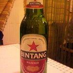 cafeロジウラのマタハリ春光乍洩 - ビンタン・インドネシアビール