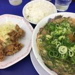 来来亭 - 牛レバー唐揚げ定食