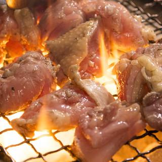 店主イチオシ『京赤地鶏』の濃厚な旨味をご堪能下さい。