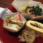 まる兆 - オススメする旬のおまかせ料理2400円3-1