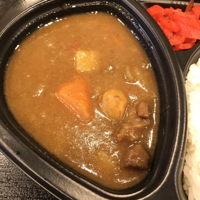 肉の丸正 - 和牛カレーの小盛。 美味し。