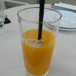 81956161 - セットのオレンジジュース(氷抜き)