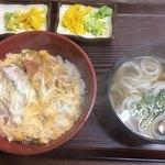 三福 - カツ丼(ミニうどん付き)