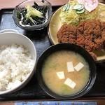 とんかつ大竹 - 料理写真:ロースかつ定食