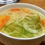 中栄 - 野菜スープ小