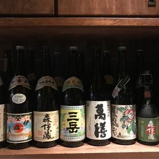 九州発『白石酒造』の有名銘柄を取り揃え◎焼酎が豊富です♪