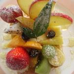 フルーツおばさんのCafe 花水木 - フルーツトースト