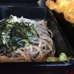 ひの木家 - 料理写真:三色そば