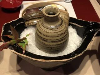 庭園の宿 石亭 - 瑞冠・自然酒 純米原酒(三次市甲奴町・山岡酒造)