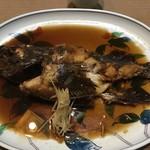 三海荘 - 生カサゴ煮付