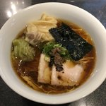 Japanese Soba Noodles 蔦 - 「ワンタン醤油Soba」1200円