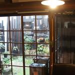 まどいせん - 温かい灯りの向こうの中庭(2018.3.5)