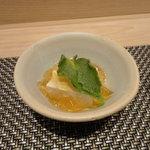鮨まるばつ - 胡麻豆腐