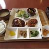 ダイジロウカフェ - 料理写真:デミグラスハンバーグ&チキンカツセット 900円 (2018.3)