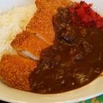 きっさレイゲン - 料理写真:カツカレーです、税込み970円です。