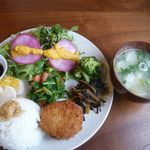 Cafeこかげ - 料理写真:ご飯プレート
