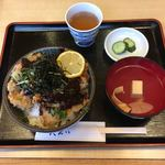 天えい - 元祖まぐろカツ丼  味噌味  ¥800
