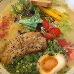 タムラ食堂 - ベジポタ鷄そば
