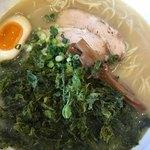 タムラ食堂 - 岩のり塩ラーメン