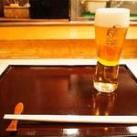 蛇の市 - 生ビール