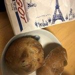 ビゴの店 - 料理写真:ハード系のパン。美味しい!!!イチヂクうまい