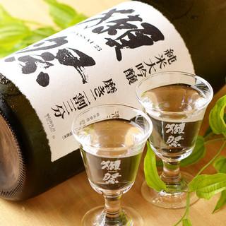 限定日本酒を味わえる【和酒BAR茶居庵】