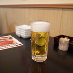 うおや - 生ビール