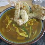 手打ちうどん まる泉 - 料理写真:鶏天カレーうどん