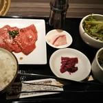 81987298 - 宮崎牛の焼肉定食 1,490円♪