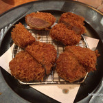 黒豚料理 寿庵 - 黒豚ヒレかつ